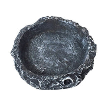 Load image into Gallery viewer, Natural-Looking Resin Reptile Feeder Bowl