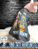 Sphynx Cat Shirt Tank Top Clothes Personalize Name Handmade Scary Minions Theme by KingTutsNakedButts
