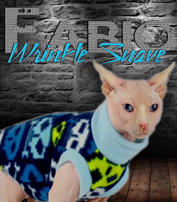 Sphynx Cat Sweater Clothes Handmade Skulls Rock by KingTutsNakedButts