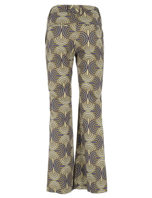 Pantalone Sandy Printed Dakar Donna True Royal