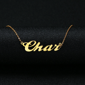 Personalized Gold & Silver Necklace