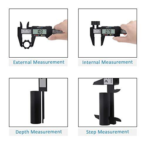Carbon Fiber Digital Micrometer