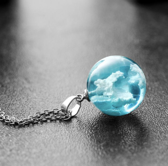 Head in the Clouds Necklace