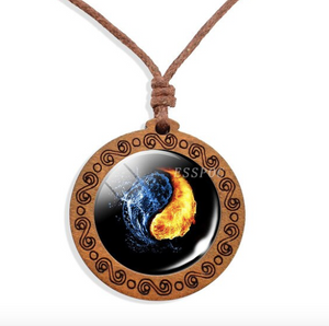 Yin Yang Elements Necklace