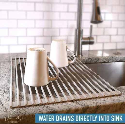 Roll-up Sink Drying Rack