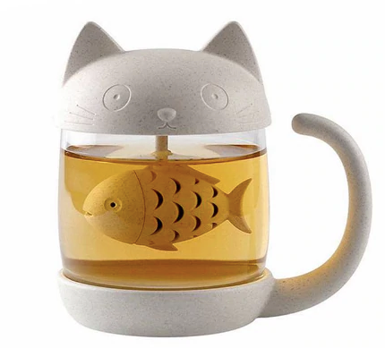 Cute Cat Tea Steeper