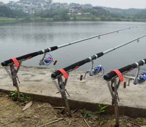 Automatic Spring Fishing Rod Holder