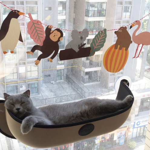 CAT HAMMOCK WINDOW LOUNGER