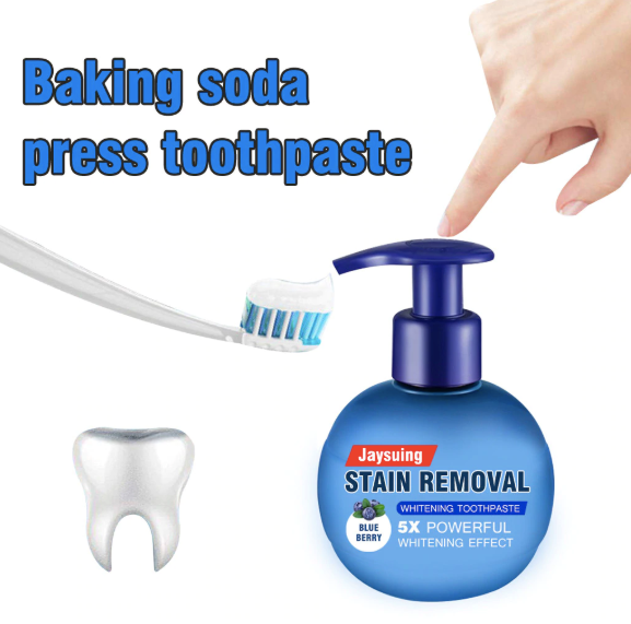 Natural Stain Removing Toothpaste