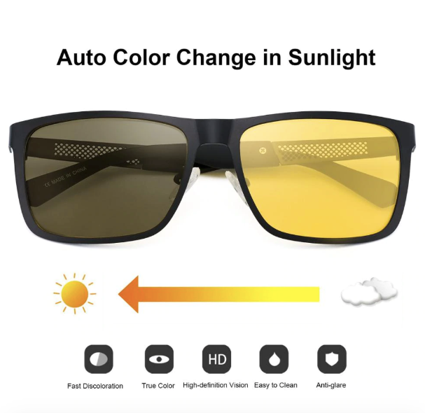 Color Changing Sun Glasses