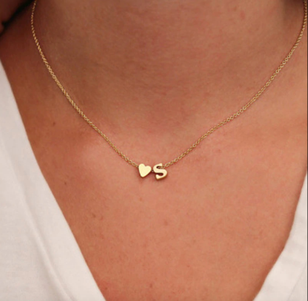 Dainty Personalized Pendant Necklace