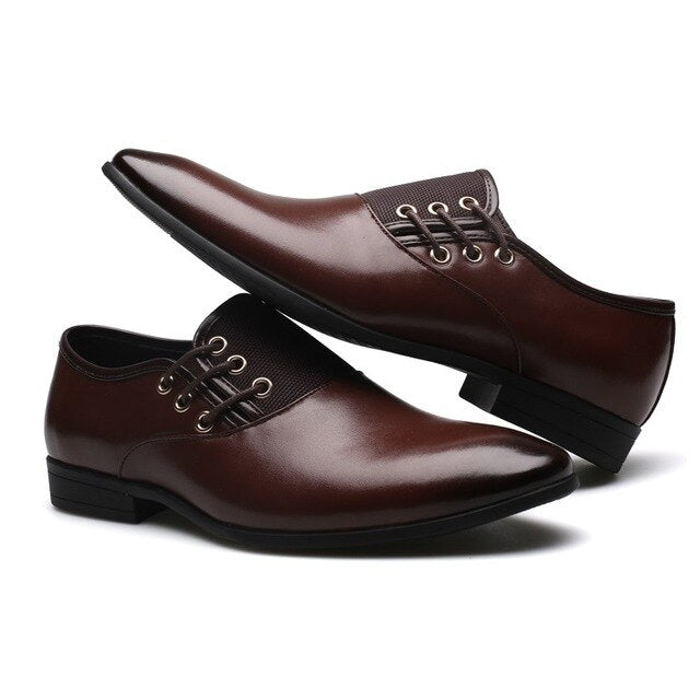 Men's Oxford Leather Shoes
