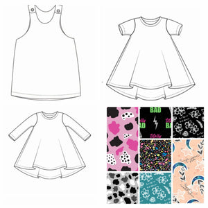 Exclusive Fabric Dress - 7 Fabrics