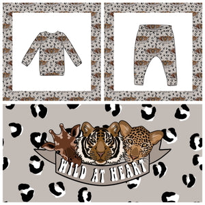 Wild At Heart Exclusive Fabric Lounge Wear