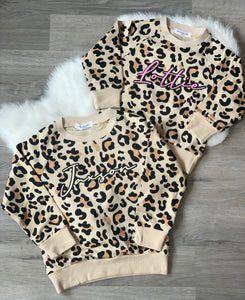 Leopard Sweater Personalised