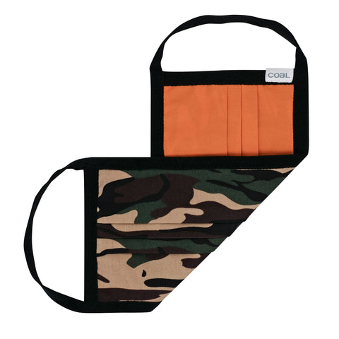 Reversable Pleated Facemask Camo