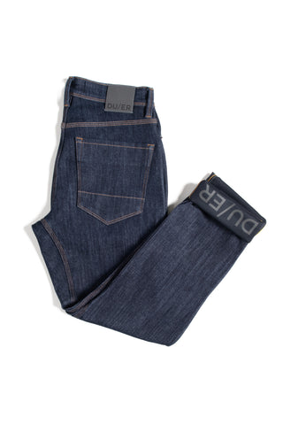 All-Weather Performance Denim Slim