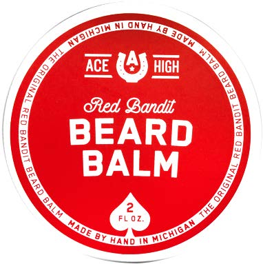 Ace High Red Bandit Beard Balm
