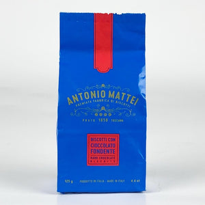 Cantuccini med choklad 125gr - Antonio Mattei