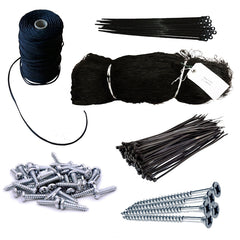 Netting and Fixings Kit 2 Metres Wide
