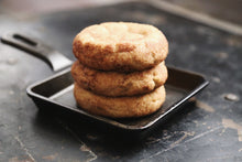 Load image into Gallery viewer, vegan snickerdoodle cookies