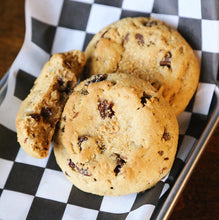 Load image into Gallery viewer, 6 Quarter Pound Vegan Cherry Almond Cookies