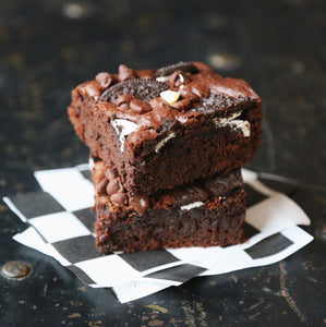 Foxship Bakery vegan oreo brownie