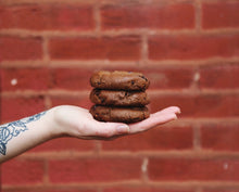 Load image into Gallery viewer, vegan double chocolate cookies