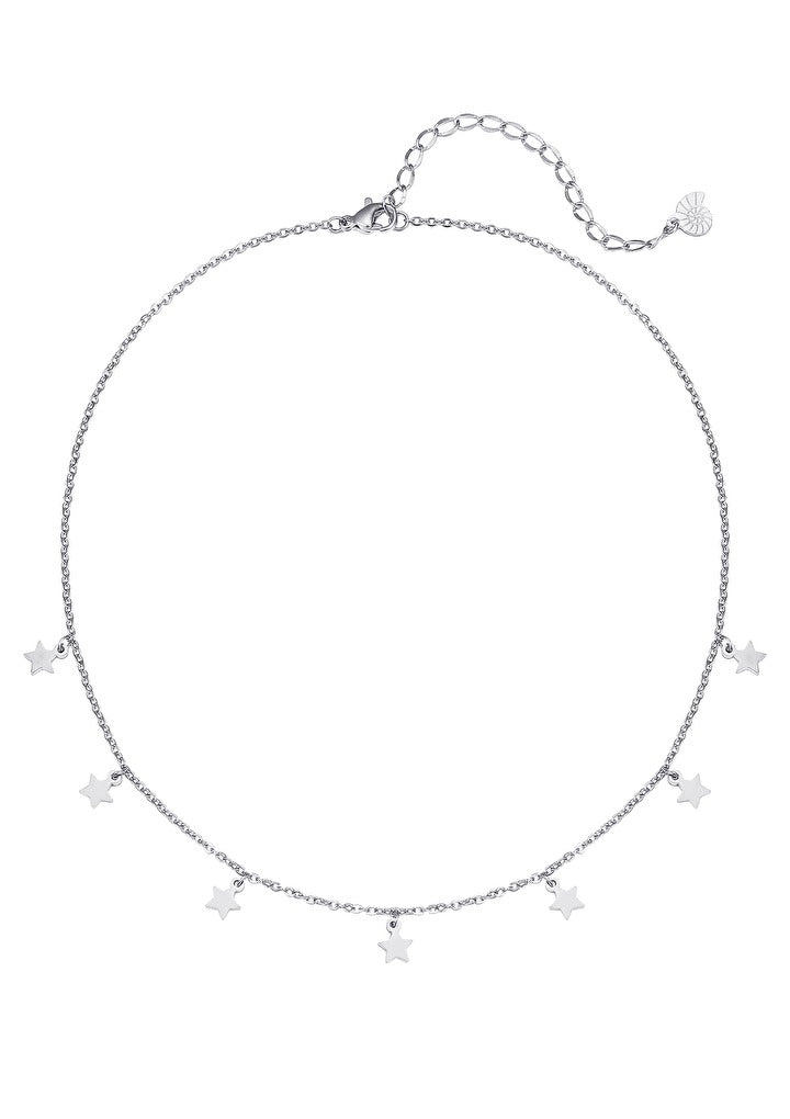 Star Delicate Necklace Silver