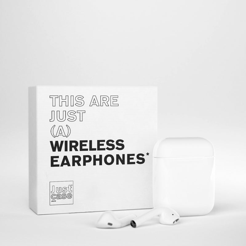EARPHONE WHITE JC