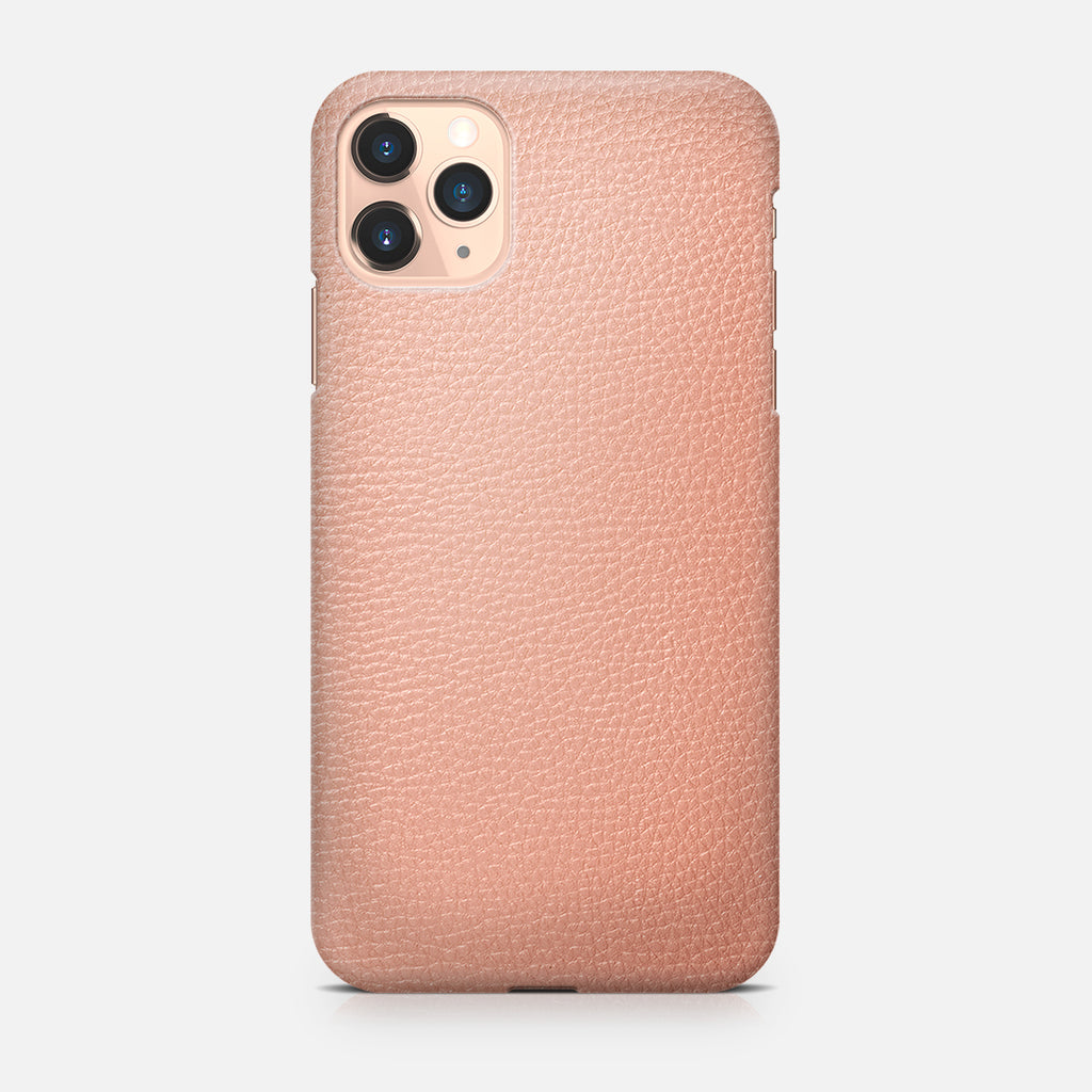 COVER PELLE PINK IPH 11 PRO MAX