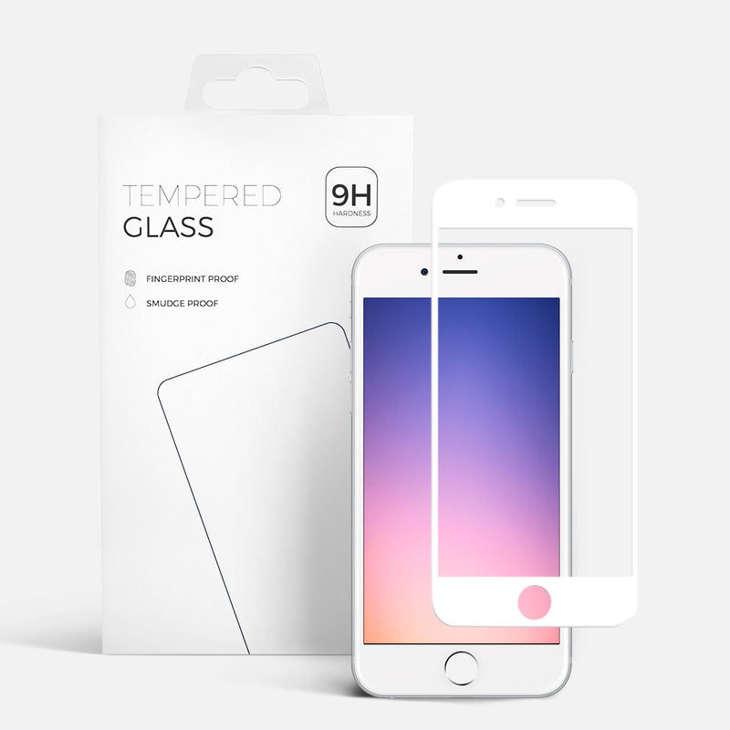 CURVED GLASS IPHONE 6 WHITE