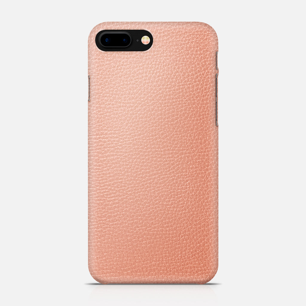 COVER PELLE PINK IPH7 PLUS
