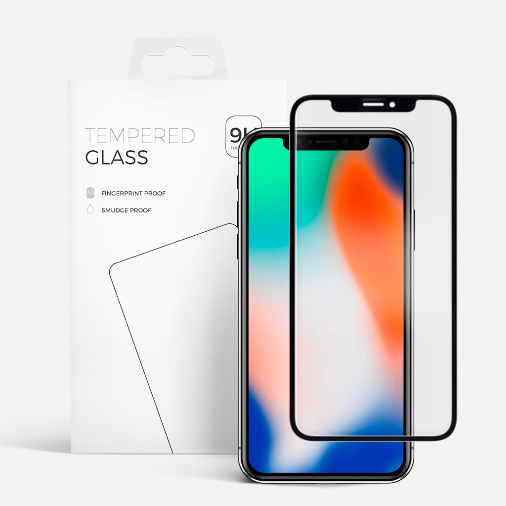 CURVED GLASS IPHONE X/11PRO BLACK
