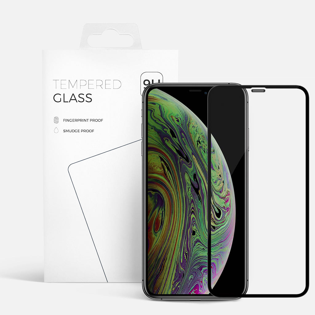 CURVED GLASS IPHONE XR/11 BLACK