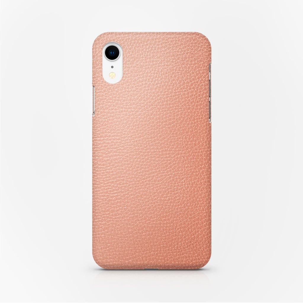 COVER PELLE PINK IPH XR