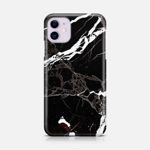 BLACK MARBLE IPHONE 11 TPU