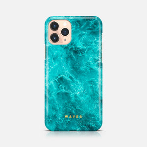 WAVES LIGHT BLUE IPHONE 11 PRO MAX TPU