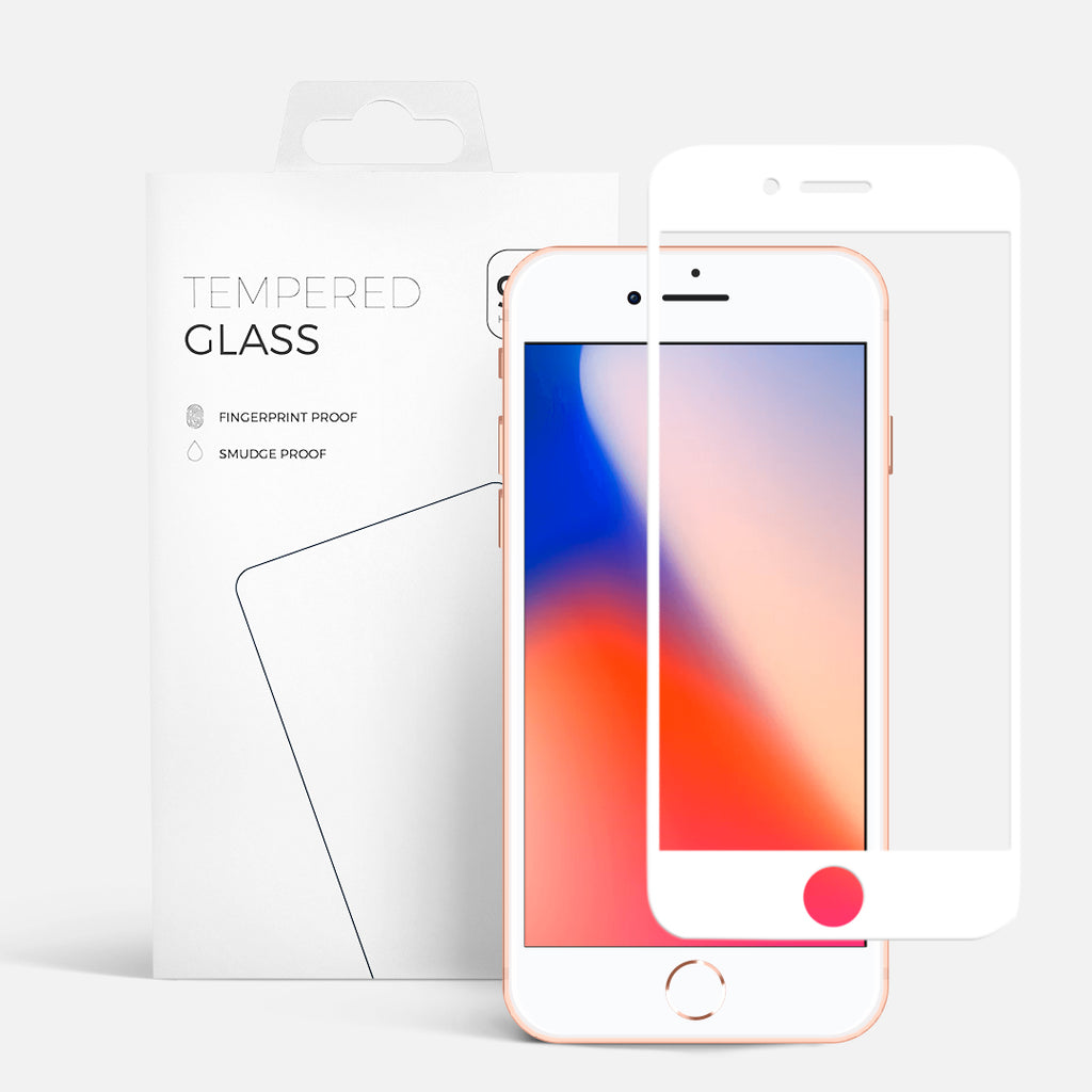 CURVED GLASS IPHONE 7PLUS WHITE