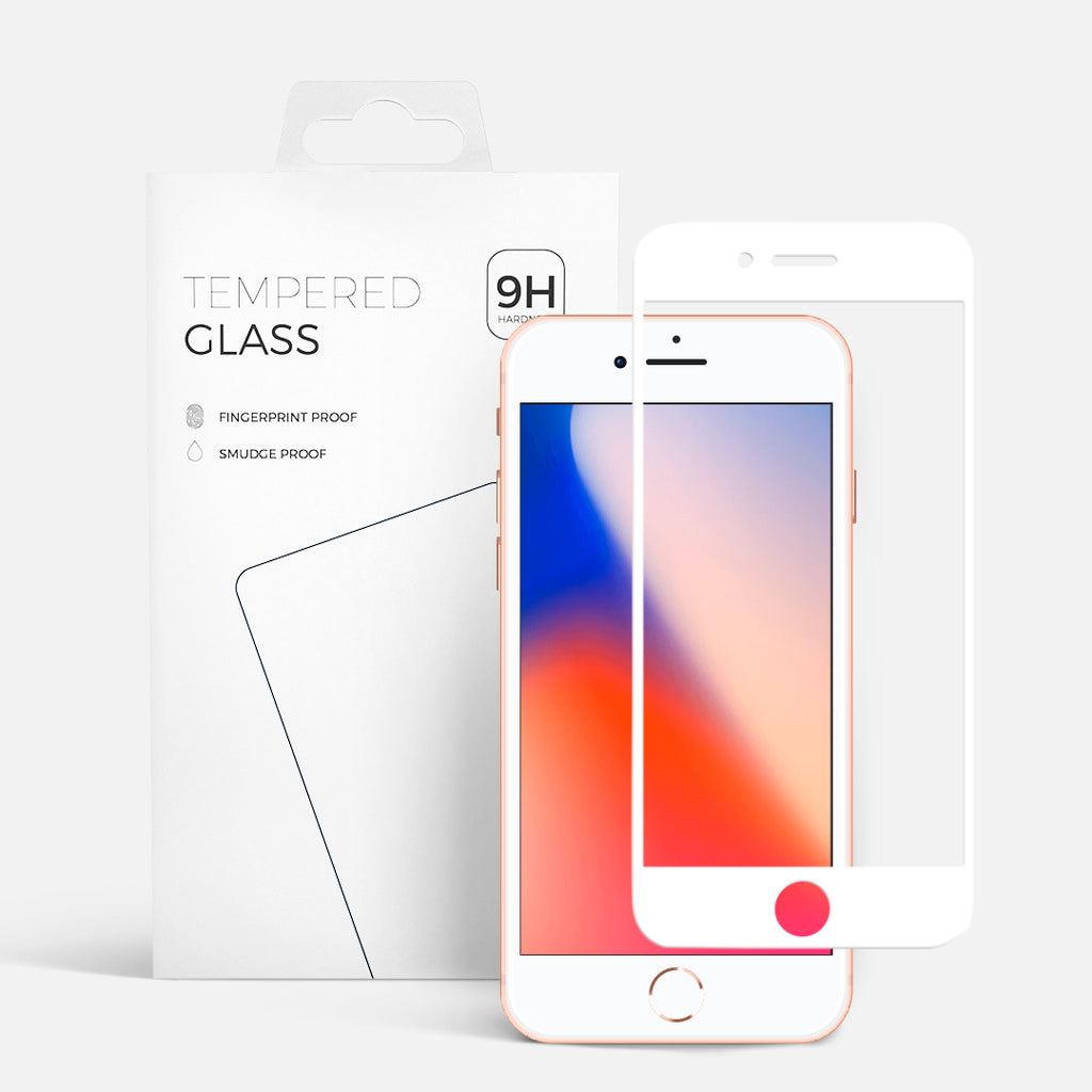 CURVED GLASS IPHONE 7 WHITE
