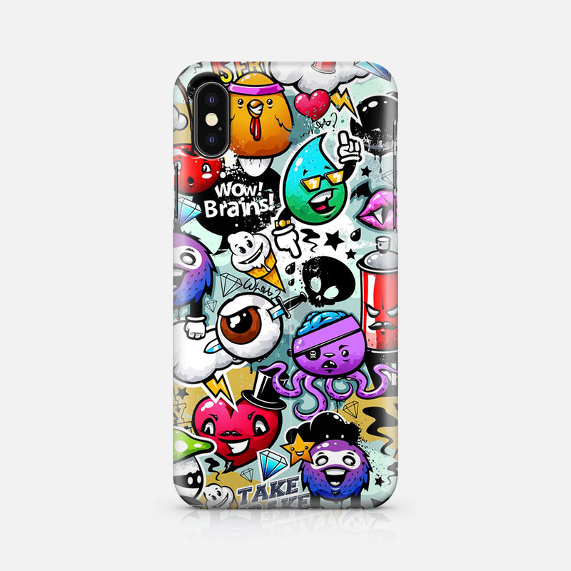 WOW BRAIN IPHONE X TPU