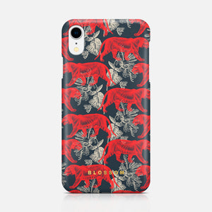 BLOSSOM TIGER IPHONE XR TPU