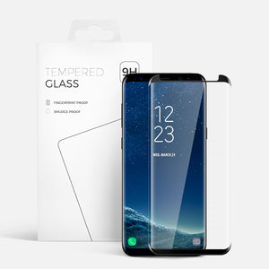 CURVED GLASS SAMSUNG S8 BLACK