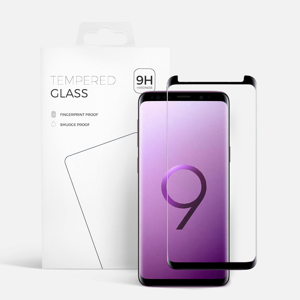 CURVED GLASS SAMSUNG S9 BLACK