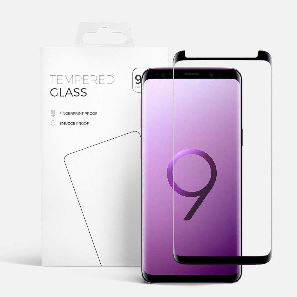 CURVED GLASS SAMSUNG S9 PLUS BLACK