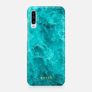 WAVES LIGHT BLUE SAMSUNG A50 TPU