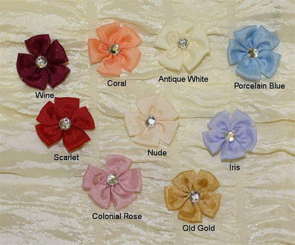 Ribbon Embroidery Loop Stitch Flower