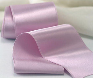 Silk Satin Ribbon - Single Faced, Style #1000, 50mm - SilkRibbon.com