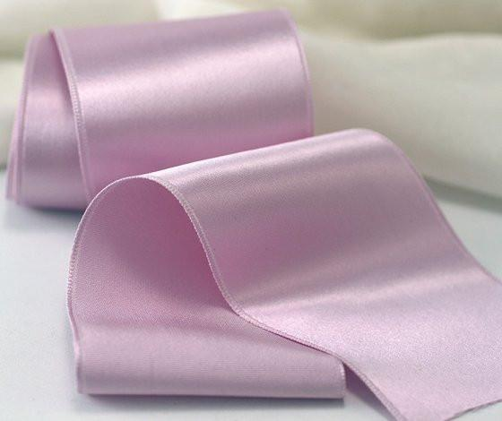 Silk Satin Ribbon - Single Faced, Style #1000, in color 38 Orchid Freeze