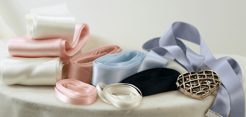 Silk Satin Ribbon - Double Faced, Style #2000, 24mm - SilkRibbon.com